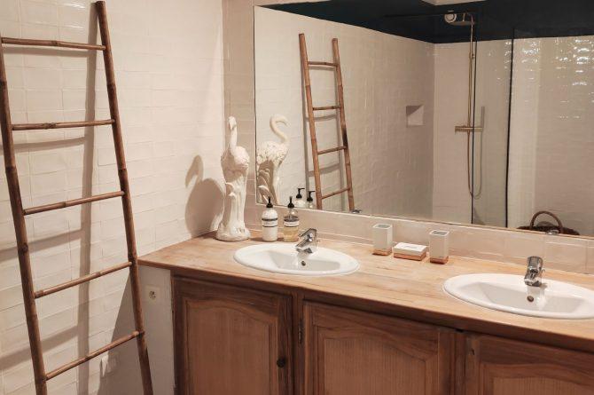Villapparte-Domaine L'Oiseau Bleu-luxe vakantiehuis voor 12 personen-Cote d'Azur-Sainte Maxime-luxe badkamer