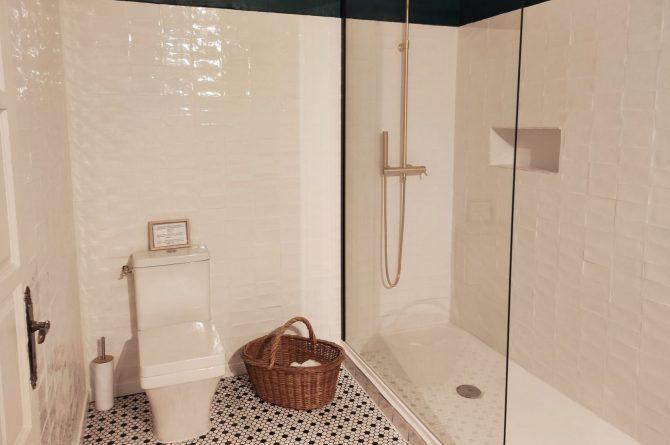 Villapparte-Domaine L'Oiseau Bleu-luxe vakantiehuis voor 12 personen-Cote d'Azur-Sainte Maxime-luxe douche