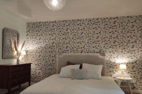 Villapparte-Domaine L'Oiseau Bleu-luxe vakantiehuis voor 12 personen-Cote d'Azur-Sainte Maxime-luxe slaapkamer