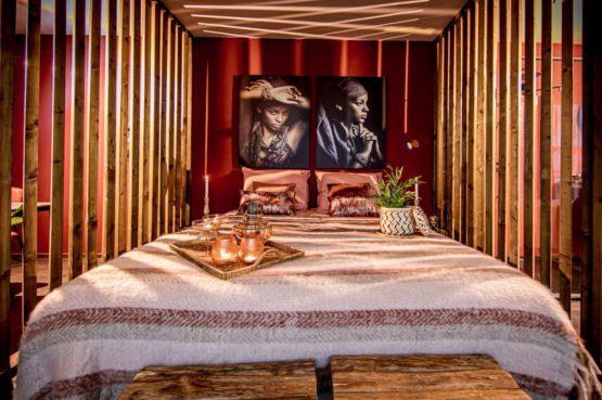 Villapparte-Droomparken-Bad Hoophuizen-Modus Wellness-knus vakantiehuis voor 2 personen-Veluwemeer-luxe bed