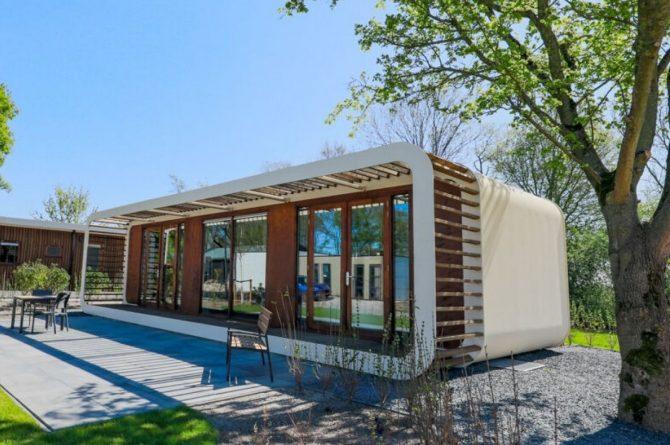 Villapparte-Droomparken-Bad Hoophuizen-Modus Wellness-knus vakantiehuis voor 2 personen-Veluwemeer-net een hotelkamer