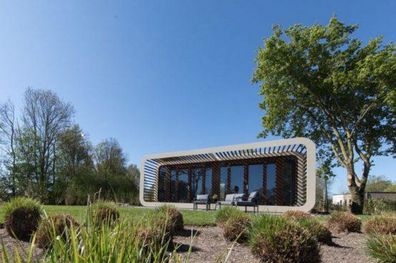 Villapparte-Droomparken-Bad Hoophuizen-Modus -modern vakantiehuis voor 4 personen-Veluwemeer-duurzaam