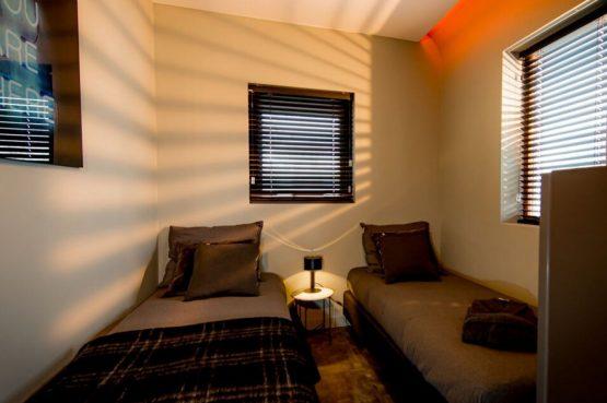 Villapparte-Droomparken-Bad Hoophuizen-Modus -modern vakantiehuis voor 4 personen-Veluwemeer-knusse slaapkamer