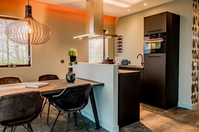 Villapparte-Droomparken-Bad Hoophuizen-Modus -modern vakantiehuis voor 4 personen-Veluwemeer-luxe keuken
