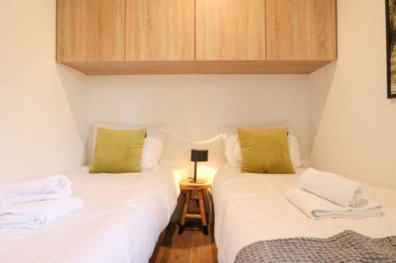 Villapparte-Droomparken-Forest Lodge Maasduinen-luxe lodge voor 4 personen-Noord-Limburg-2 persoons slaapkamer