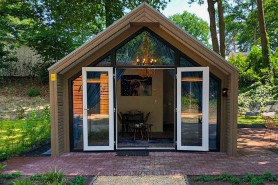 Villapparte-Droomparken-Forest Lodge Maasduinen-luxe lodge voor 4 personen-Noord-Limburg