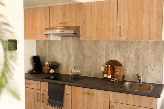 Villapparte-Droomparken-Forest Lodge Maasduinen-luxe lodge voor 4 personen-Noord-Limburg-complete keuken