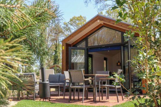 Villapparte-Droomparken-Forest Lodge Maasduinen-luxe lodge voor 4 personen-Noord-Limburg-knusse lodge