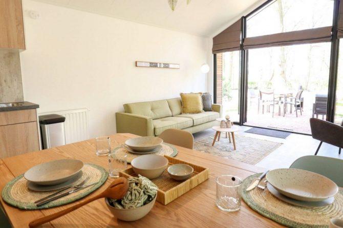 Villapparte-Droomparken-Forest Lodge Maasduinen-luxe lodge voor 4 personen-Noord-Limburg-prachtig uitzicht