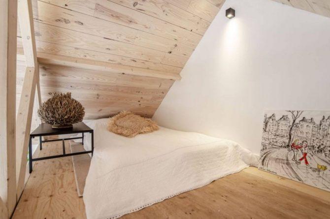 Villapparte-Natuurhuisje-Vakantiehuis Terschuur-romantisch vakantiehuis voor 3 personen-Terschuur-Gelderland-lekkere slaapplek