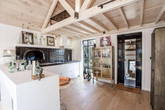 Villapparte-Natuurhuisje-Vakantiehuis Terschuur-romantisch vakantiehuis voor 3 personen-Terschuur-Gelderland-luxe keuken