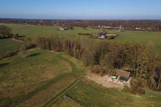 Villapparte-Natuurhuisje-Vakantiehuis Terschuur-romantisch vakantiehuis voor 3 personen-Terschuur-Gelderland-met drone
