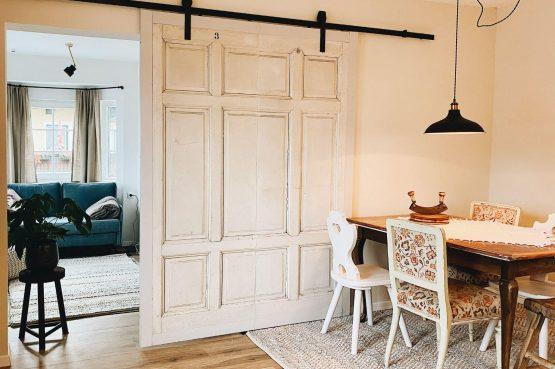 Villapparte-Villa Kraft-Villapparte Select-Unieke appartementen-Bad Gastein-Oostenrijk-Appartement Wasser-eethoek