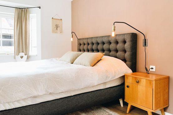 Villapparte-Villa Kraft-Villapparte Select-Unieke appartementen-Bad Gastein-Oostenrijk-romantische slaapkamer