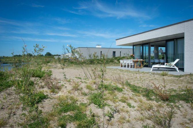 Villapparte-Zandvillas-Vakantievilla Zandbank 12-luxe vakantiehuis voor 8 personen-Kamperland-Zeeland-aan het water
