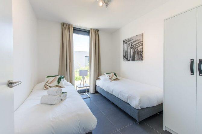 Villapparte-Zandvillas-Vakantievilla Zandbank 12-luxe vakantiehuis voor 8 personen-Kamperland-Zeeland-kinderslaapkamer