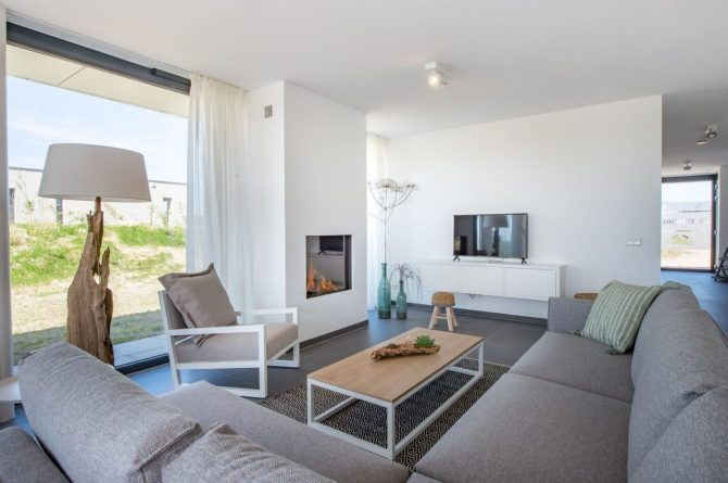 Villapparte-Zandvillas-Vakantievilla Zandbank 12-luxe vakantiehuis voor 8 personen-Kamperland-Zeeland-knusse zithoek