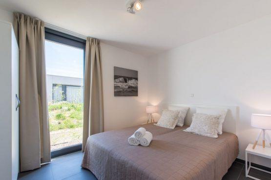 Villapparte-Zandvillas-Vakantievilla Zandbank 12-luxe vakantiehuis voor 8 personen-Kamperland-Zeeland-romantische slaapkamer