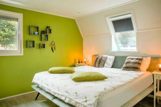 Villapparte-Belvilla-Vakantiehuis Duinvilla-luxe vakantiehuis voor 6 personen-met zwembad-Kaatsheuvel-Noord-Brabant-luxe slaapkamer