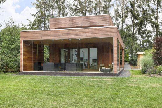 Villapparte-Boek uw buitenhuis-Woody Lodge Valerie-luxe vakantiehuis voor 4 personen-Twente