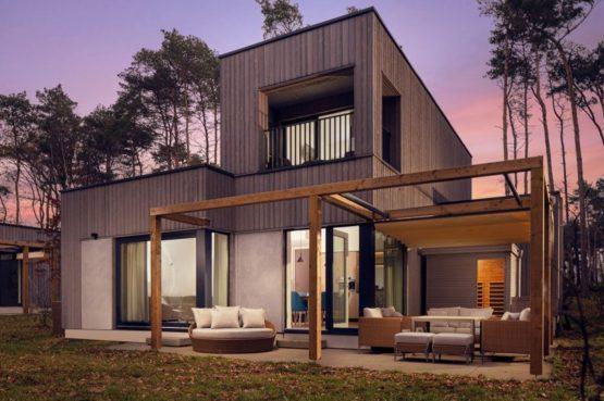 Villapparte-Center Parcs-Terhills Resort-Exclusive Lakeside Cottage-Luxe vakantievilla voor 6 personen-België