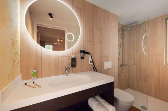 Villapparte-Center Parcs-Terhills Resort-Exclusive Lakeside Cottage-Luxe vakantievilla voor 6 personen-België-luxe badkamer