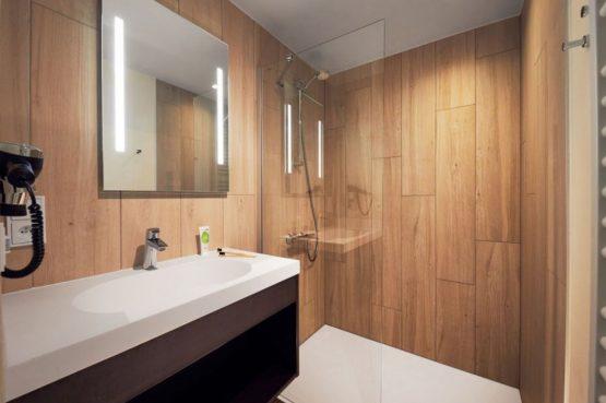 Villapparte-Center Parcs-Terhills Resort-Exclusive Lakeside Cottage-Luxe vakantievilla voor 6 personen-België-luxe douche