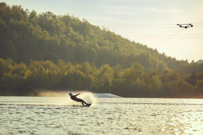 Villapparte-Center Parcs-Terhills Resort-Exclusive Lakeside Cottage-Luxe vakantievilla voor 6 personen-België-waterskiën