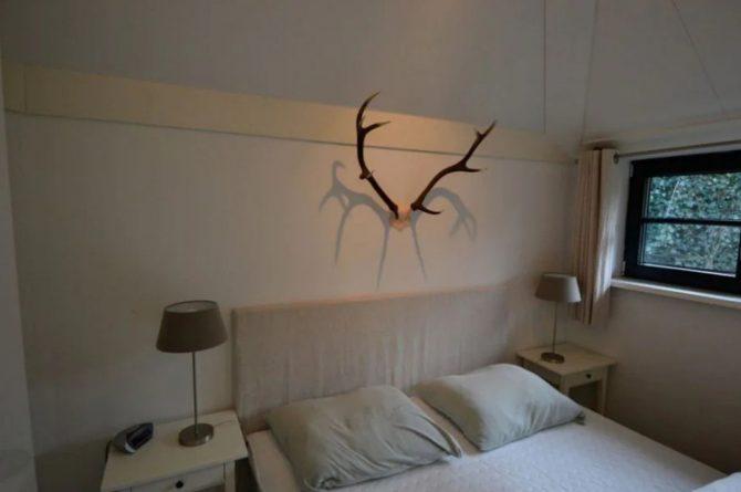 Villapparte-Roompot-Buitenhuis 4-Knus vakantiehuis voor 4 personen-Park Scorleduyn-Schoorl-Noord-Holland-knusse slaapkamer