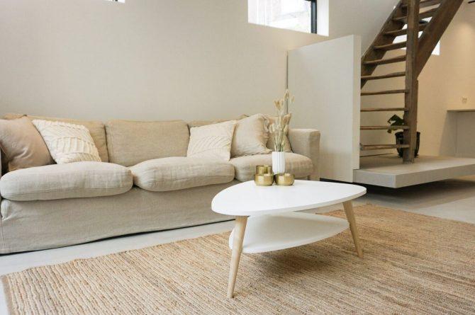 Villapparte-Ruiterplaat-City of Goes-Loft Twelve-modern appartement voor 4 personen-Goes-Zeeland-Sfeervolle woonkamer