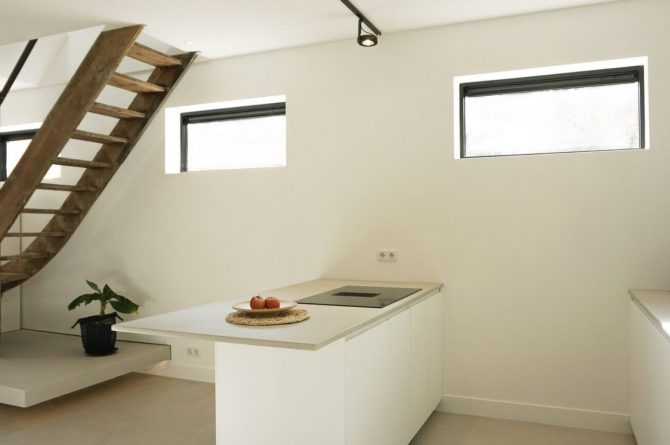 Villapparte-Ruiterplaat-City of Goes-Loft Twelve-modern appartement voor 4 personen-Goes-Zeeland-lichte keuken