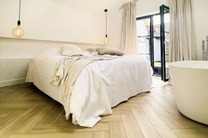 Villapparte-Ruiterplaat-City of Goes-Loft Twelve-modern appartement voor 4 personen-Goes-Zeeland-luxe slaapkamer