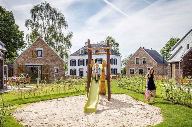 Villapparte-Vakantiehuis Herenhuis Luxe kids-Dormio Resorts Maastricht-luxe vakantiehuis voor 8 personen-dichtbij speeltuin
