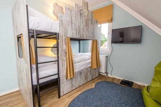 Villapparte-Vakantiehuis Herenhuis Luxe kids-Dormio Resorts Maastricht-luxe vakantiehuis voor 8 personen-kinder slaapkamer