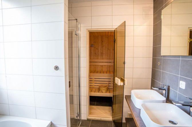 Villapparte-Vakantiehuis Herenhuis Luxe kids-Dormio Resorts Maastricht-luxe vakantiehuis voor 8 personen-sauna