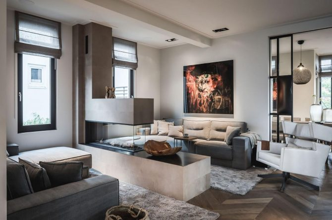 Villapparte-Villa for you-Villa Kranenbergh- luxe vakantievilla voor 16 personen-bergen-Noord-Holland-sfeervolle zithoek