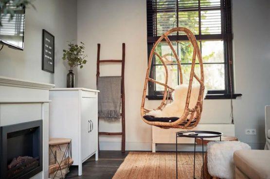 Villaparte-Vipio-Vakantiehuis aan de Amstel-luxe vakantiehuis voor 2 personen-Amsterdam-gezellige woonkamer
