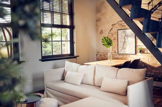 Villaparte-Vipio-Vakantiehuis aan de Amstel-luxe vakantiehuis voor 2 personen-Amsterdam-knusse zithoek