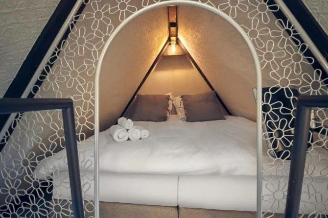 Villaparte-Vipio-Vakantiehuis aan de Amstel-luxe vakantiehuis voor 2 personen-Amsterdam-romantische slaapkamer