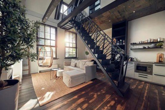Villaparte-Vipio-Vakantiehuis aan de Amstel-luxe vakantiehuis voor 2 personen-Amsterdam-romantische woonkamer