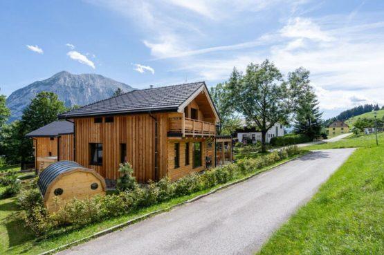 Villapparte-Belvilla-Chalet Tauplitz-luxe chalet voor 12 personen-met privé sauna-Stiermark-Oostenrijk