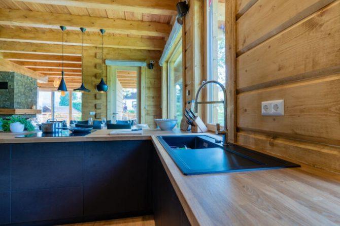 Villapparte-Belvilla-Chalet Tauplitz-luxe chalet voor 12 personen-met privé sauna-Stiermark-Oostenrijk-complete keuken