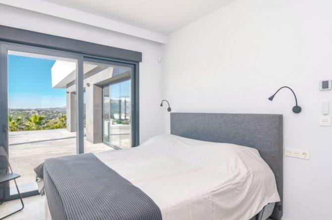 Villapparte-Belvilla-Villa Casa Leda in Jávea-moderne vakantievilla voor 6 personen met zwembad-Spanje-luxe slaapkamer