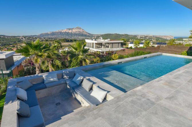 Villapparte-Belvilla-Villa Casa Leda in Jávea-moderne vakantievilla voor 6 personen met zwembad-Spanje-zwembad met uitzicht