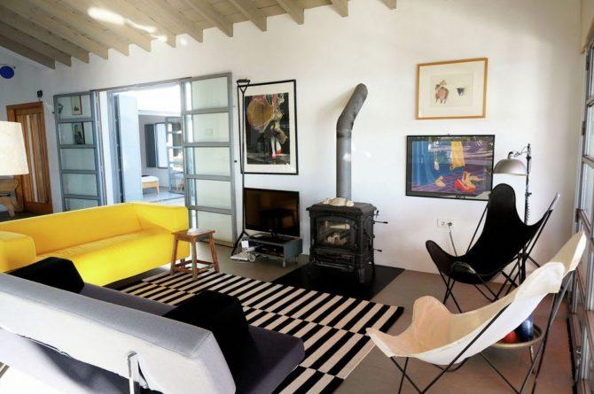 Villapparte-Belvilla-Villa Paradiso in Moclinejo-luxe villa voor 4 personen-Spanje-moderne zithoek