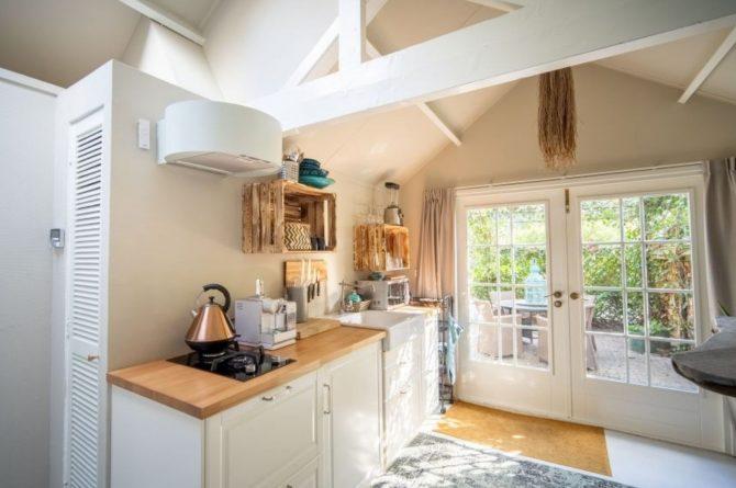 Villapparte-Natuurhuisje-Vakantiehuis Westerheide-romantisch vakantiehuis voor 2 personen-Laren-knusse keuken