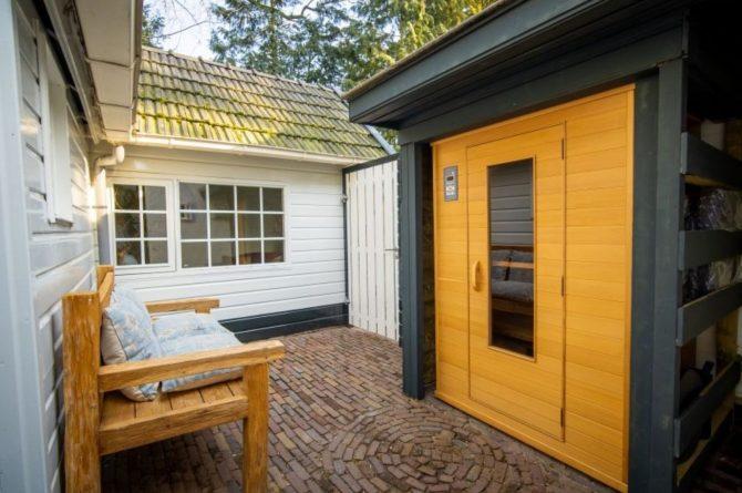 Villapparte-Natuurhuisje-Vakantiehuis Westerheide-romantisch vakantiehuis voor 2 personen-Laren-warmte cabine