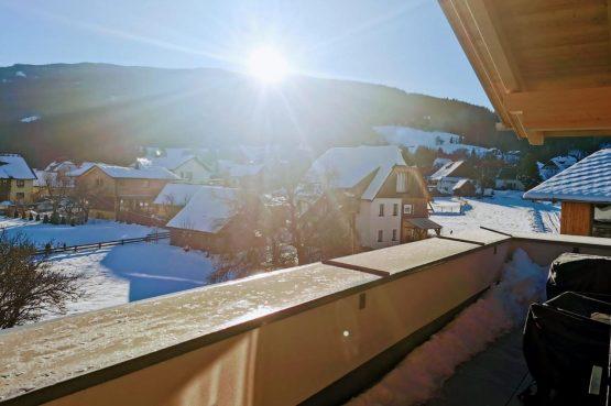 Villapparte-Villa for You - Penthouse Kreischberg - luxe penthouse voor 8 personen-met Sauna-St. Lorenzen ob Mureau-Oostenrijk-balkon met uitzicht