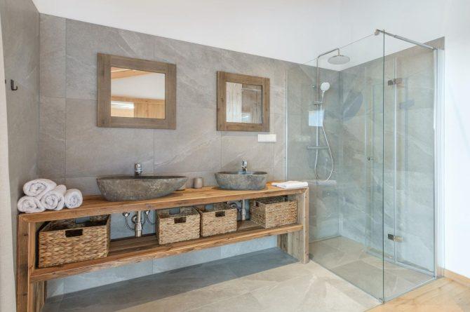 Villapparte-Villa for You - Penthouse Kreischberg - luxe penthouse voor 8 personen-met Sauna-St. Lorenzen ob Mureau-Oostenrijk-luxe badkamer
