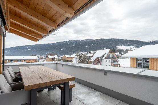 Villapparte-Villa for You - Penthouse Kreischberg - luxe penthouse voor 8 personen-met Sauna-St. Lorenzen ob Mureau-Oostenrijk-ruim balkon
